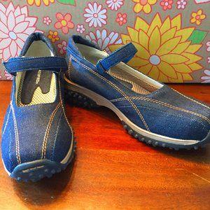 Classified Denim Mary Jane sneaker  NWOT